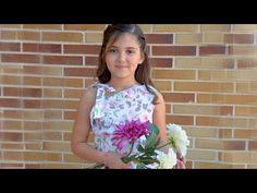 Blusa con escote asimétrico. Revista patrones infantiles n º 4 - YouTube