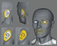 TopoGun: Tips for better topology | 3D Artist - Animation, Models, Inspiration & Advice | 3DArtist Magazine