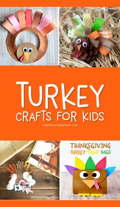 25 Awesome Thanksgiving Crafts For Kids