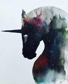 Unicornios Wallpaper, Unicorns And Mermaids, Art Sculpture, Unicorn Art, Black Unicorn, Unicorn Sketch, Rainbow Unicorn, Illustrations, Mythical Creatures