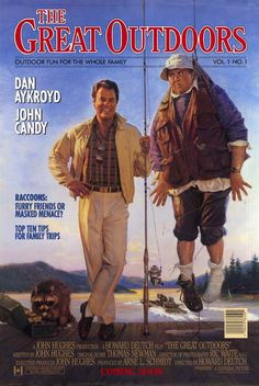 The Great Outdoors is a 1988 American comedy film starring Dan Aykroyd and John Candy and the truth is IT IS FUNNY. Dont try to take it so seriously youll miss out on an otherwise fun comedy 80s Movies, Comedy Movies, Great Movies, Movies To Watch, Awesome Movies, Throwback Movies, Movies Of The 80's, Funny Movies, See Movie