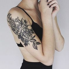25 Floral Tattoos That Are Pretty Perfect