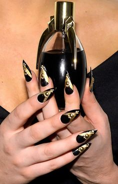 Lady #Gaga's Fake #Nail Sells at $13,000 and Miley Cyrus opens Her Late Night Nail Salon