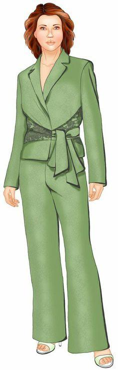 Chaqueta - Patrón de costura #5535