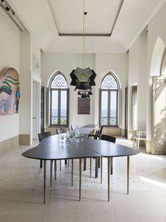 Une maison à Beyrouth, la salle à manger © Stephan Julliard / Tripod agency