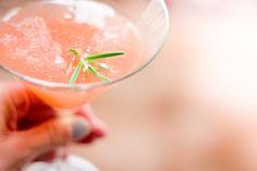 Holding Court: fig martini & rosemary honey syrup