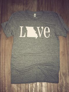 Classic State Love Tee- Missouri | Charlie Southern