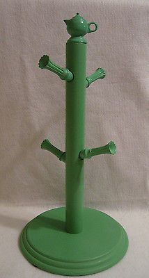 Fiesta-Fiestaware-Accessory-Mug-Tree-Holder-Sea-Mist-Green. Own it and love it.