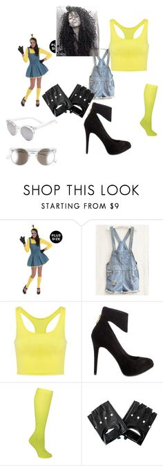 """Minions"" by takalyn-fowler on Polyvore featuring Jessica Simpson, Ozone and Tildon"