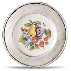 Plato cerámica LOMBARDIA