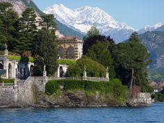 Isola Bella ed alpi Svizzere