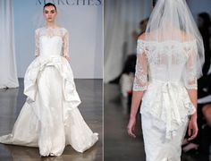 18 Exquisite Gowns from Marchesa Bridal Spring 2014 | OneWed