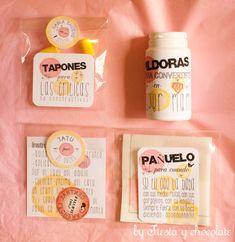 Kit para mamas personalizado. | fiesta y chocolate. articulos personalizados para cumpleaños, comuniones, bautizos, baby