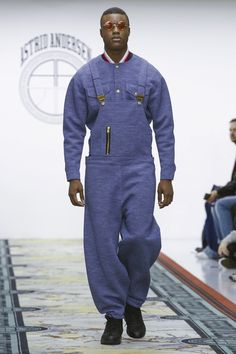 Astrid Andersen Menswear Fall Winter 2016 London