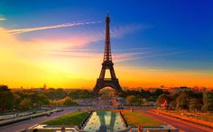 """Paris is the capital city of France. It is one of the most popular and most romantic tourist destinations in the world, often nicknamed """"The City of Love"""". The most famous attraction in Paris is the Eiffel Tower. Dream Vacations, Vacation Spots, Vacation Ideas, Paris France, Paris Paris, Paris Cafe, Francia Paris, France City, Paris 2015"""