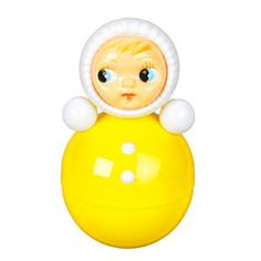 Retro Yellow Mini Rocker Girl.  A great gift for Mothers Day from Rowdy Roddy Vintage.