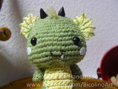Piccoli draghi amigurumi di Bicolino su DaWanda.com