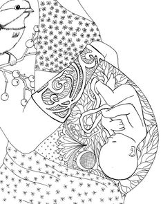 graphic coloring pages with pregnant women - Yahoo Image Search Results Colouring Pages, Adult Coloring Pages, Coloring Books, Coloring Sheets, Free Coloring, Pregnancy Art, Pregnancy Journal, Pregnancy Info, Pregnancy Drawing