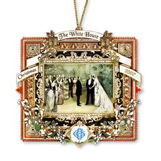 2007 White House Christmas Ornament, A President Marries in the White House - Ornaments - Christmas | The White House Historical Association...