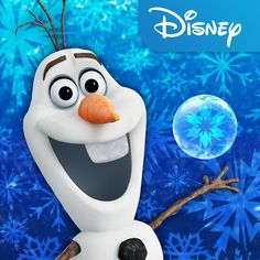 Like warm hugs? Olaf is now available in Frozen Free Fall! Download the free app and start playing the 120 puzzles now:       iOS: http://di.sn/hV1   Google Play http://di.sn/eUK