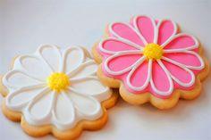 Easy Daisy cookies