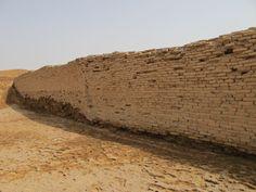 GIRSU - Ruines - Mur datant de 2500 avant JC
