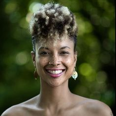 """Natural Hair Look Book 