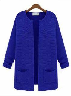Royal Blue cardigan - $32