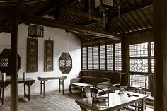 chinese traditional house interior - Google Search