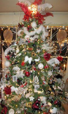 Paris themed Christmas Tree!