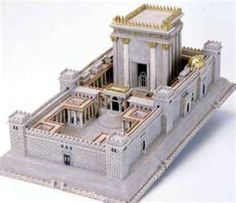 Jerusalem Temple Model - Beit HaMikdash or Beis Hamikdash - The Temple Mount. This hand painted and highly detailed Temple of Jerusalem Bet Mikdash Model comes with a booklet that guides you through the Temple of Jerusalem Bet Mikdash Model courtyard and Jewish Temple, Temple In Jerusalem, Tisha B'av, Cultura Judaica, Third Temple, Solomons Temple, Temple Mount, Templer, Freemasonry