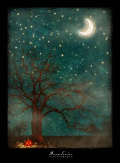 Samhain by Cosmosue this reminds me of our halloween Photo Halloween, Halloween Vintage, Halloween Pictures, Halloween Art, Holidays Halloween, Happy Halloween, Halloween Night, Halloween Greetings, Wicca