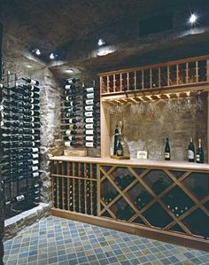As wine cellar design specialists, we have been providing quality custom wine storage since Our wooden wine racking designs come with a lifetime guarantee Wine Cellar Basement, Wine Cellar Racks, Tasting Room, Wine Tasting, Home Wine Cellars, Wine Cellar Design, Wine Display, Wine Wall, Wine Cabinets