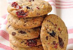 Cookies aux fruits rougesDécouvrez la recette de ces cookies aux fruits rouges