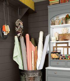 5 ideas para organizar la habitación de las manualidades