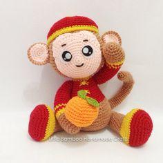 Prosperity Monkey Amigurumi Pattern