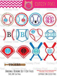 Hey, I found this really awesome Etsy listing at https://www.etsy.com/listing/266768077/baseball-monogram-frames-svg-cutting