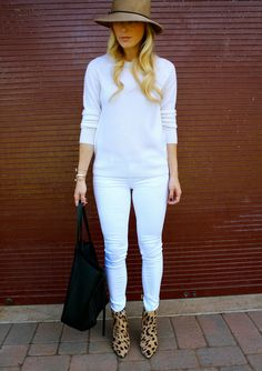 Style, Caffeinated: Fall In White