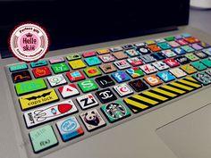 Keyboard Decal MacBook Macbook Keyboard Decal/Macbook Pro Keyboard Skin/Macbook Air Sticker/Macbook vinyl sticker on Etsy, $12.98