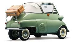 BMW Isetta 300 Cabrio, BMW made around 50 examples of the convertible Isetta bubble car Bmw Isetta, Microcar, Type E, Bmw Classic Cars, Weird Cars, Cabriolet, Cute Cars, Unique Cars, Small Cars