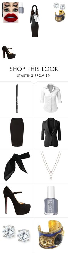 """""""Loki and Gabriel figure out Layla is their long lost daughter"""" by dove-malfoy ❤ liked on Polyvore featuring Buxom, LE3NO, TC Fine Intimates, Christian Louboutin, Essie, Lisa Freede and Roberto Cavalli"""