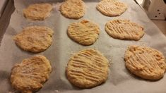 Bataattirieskat 2 Food And Drink, Cookies, Desserts, Crack Crackers, Tailgate Desserts, Deserts, Biscuits, Postres, Cookie Recipes