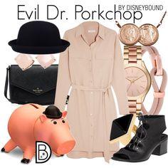 Disney Bound - Evil Dr. Porkchop