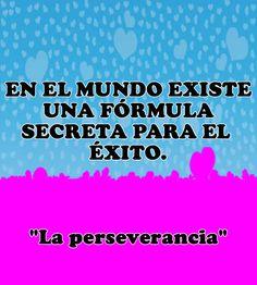 #FelizDomingo  En el mundo existe una fórmula secreta para el éxito