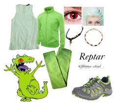 """""""Reptar"""" by dagger-seishin on Polyvore"""