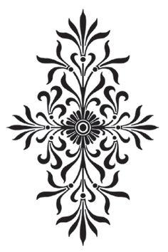 9 Best Modello images  Stencil designs, Stencils wall, Stencils