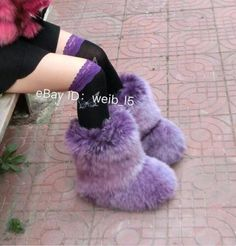 Buy Womens Faux Fur Warm Thick Winter Snow Boot Fluffy Cosplay Casual Shoes at online store Furry Boots, Warm Boots, Winter Snow Boots, Ugg Boots, Pink Boots, Sexy Boots, Boots For Sale, Fur Fashion, Furs