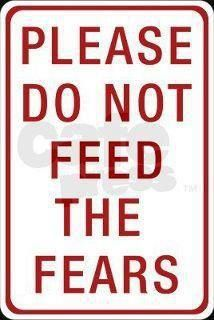 """SEED OF FAITH OVER FEAR~ """"Feed your fears and your faith will starve. Feed your faith, and your fears will."""" ~ Max Lucado"""