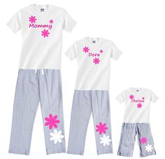 caf1a2e1c6c3 16 Best Personalized Christmas Pajamas images