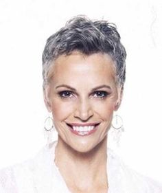 hairstyles for women over 70 gray hair - Glamor Bank - Image Results